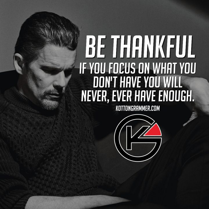 Be thankful Quotes by Kotton Grammer